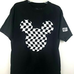 Mickey Mouse Checkerboard T Shirt